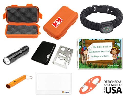 EZ  1 EZ Outdoor Adventure Kit for Boys and Girls The Little Book of Wilderness Survival