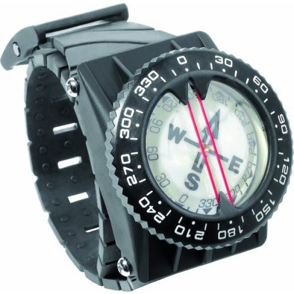 Cressi Survival Compass 1 Cressi Underwater Compass for Scuba Diving | Easy-to-Read Instrument in All Conditions