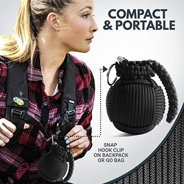 Holtzman's Gorilla Survival Survival Kit 7 Holtzmans Survival Kit Paracord Grenade The #1 Best 48 Tool Emergency kit