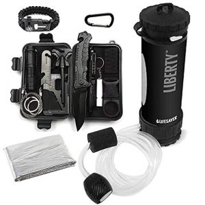 ePrep  1 ePrep Lifesaver Water Purification System with Bundled Survival Kit. Emergency preparedness
