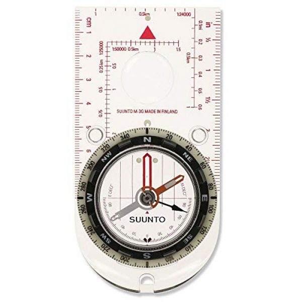 SUUNTO Survival Compass 1 Suunto M-3 G Compass For Globetrotters, One Size, Global Metric