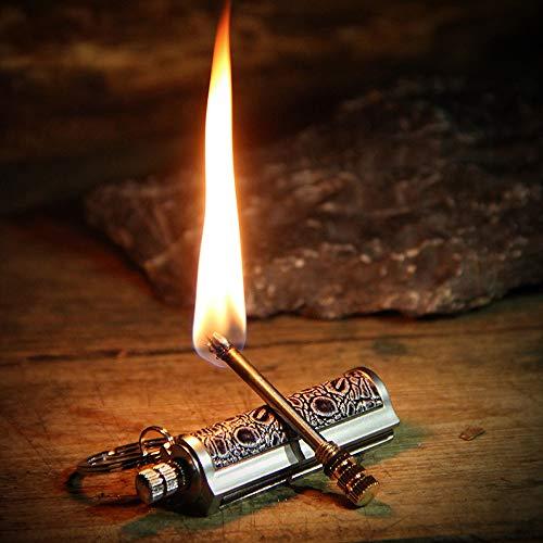 BOLLAER  1 BOLLAER Keychain Flint Metal Matchstick Fire