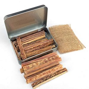 PBL  1 PBL Fatwood 20 Sticks Firestarters in Tin Hand Cut in USA Camping Hiking Backpacking