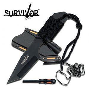 Survivor  1 Survivor HK-762BK Fixed Blade Knife