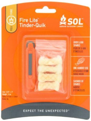 Adventure Medical Kits  1 Adventure Medical Kits SOL Fire Lite with Tinder-Quik