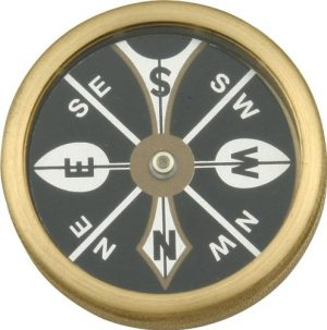 Hen & Rooster  1 Hen & Rooster MR223 Large Pocket Compass Hunting Field Dressing Accessories
