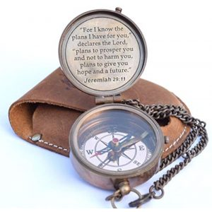 NEOVIVID Survival Compass 1 NEOVIVID for I Know The Plans I Have for You Engraved Compass, Jeremiah 29 11, Baptism Gifts, Best Easter, Birthday, Mothers Day, Fathers Day, Graduation Gift, Wedding Gifts