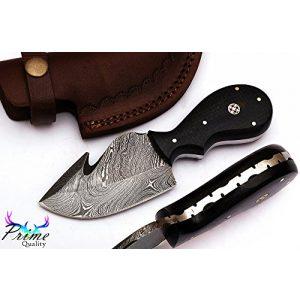 FineEdge Fixed Blade Survival Knife 1 FineEdge Custom Handmade Damascus Blade Hunting knife 1051