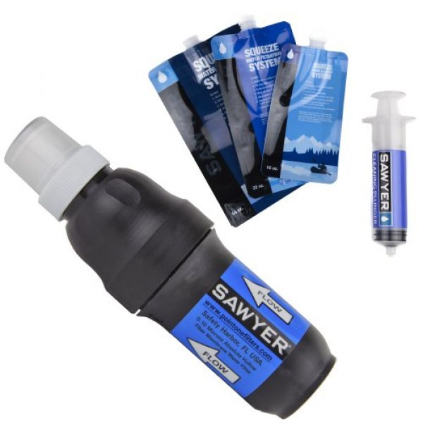 Sawyer Products Survival Water Filter 1 Sawyer Products Squeeze Water Filtration System