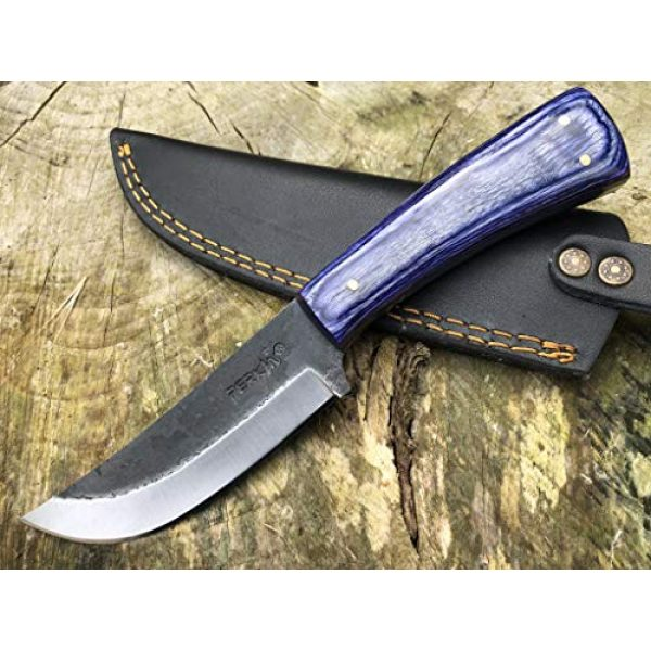 Perkin Fixed Blade Survival Knife 1 Perkin PK850 Hunting Knife with Sheath Fix Blade Knife with Sheath