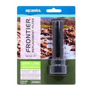 Aquamira Survival Water Filter 1 FRONTIER SERIES III GRN LINE REPLACEMENT FILTER