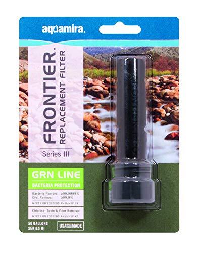 Aquamira  1 FRONTIER SERIES III GRN LINE REPLACEMENT FILTER