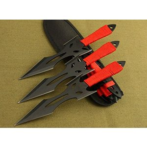 Regulus Fixed Blade Survival Knife 1 Regulus Knife Black Fox Titanium Black Darts (3)