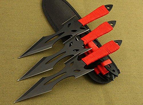 Regulus  1 Regulus Knife Black Fox Titanium Black Darts (3)
