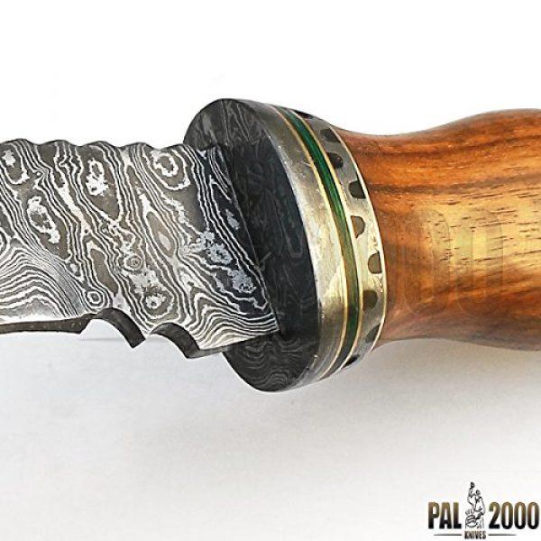 PAL 2000 KNIVES Fixed Blade Survival Knife 3 Custom Handmade Damascus Steel Hunting Kukri Knife -Sword/Chef Kitchen Knife/Dagger/Full Tang/Skinner/Axe/Billet/Cleaver/Bar/Folding Knife/Kukri/knife accessories/survival/Camping With Sheath 9106