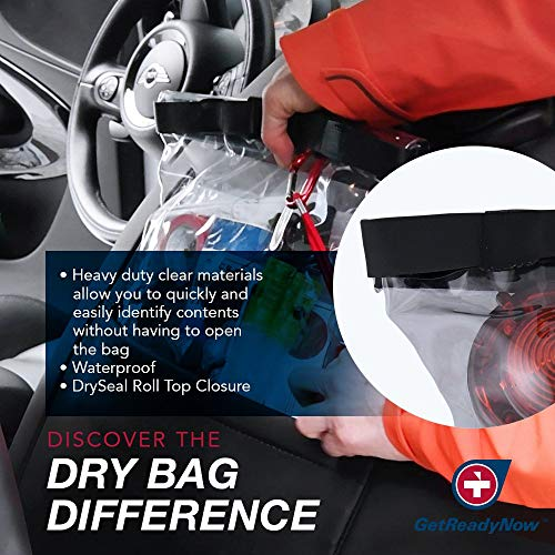 Convenient Design | Clear Waterproof Dry Bag with Emergency Essentials