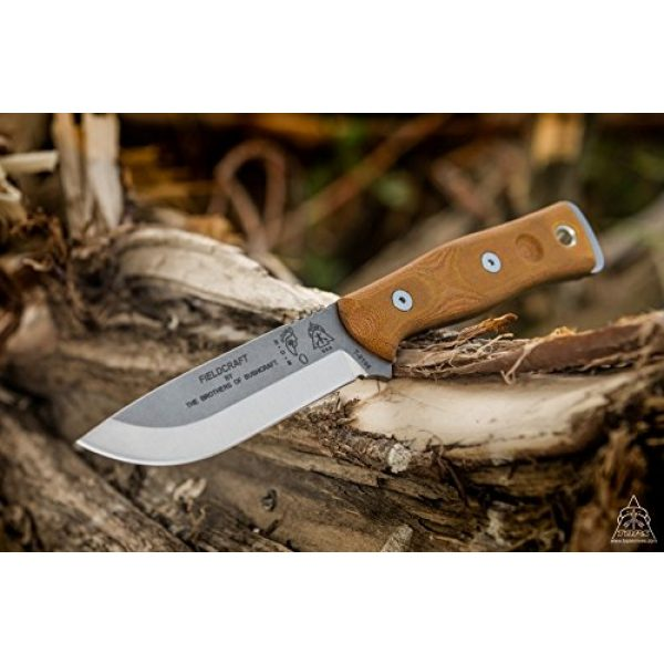 TOPS Knives Fixed Blade Survival Knife 1 TOPS Knives Brothers of Bushcraft - Tumble Finish