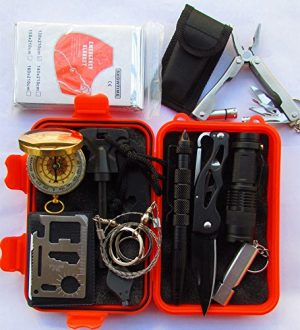 GOGOMY  1 Gogomy Emergency Survival Kits 13 in 1 - Camping