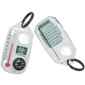 Sun Company  1 Sun Company TripleGage - Zipper Pull Compass