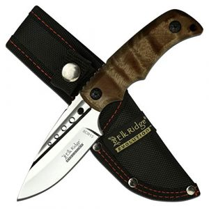 Elk Ridge Evolution  1 Elk Ridge Evolution Fixed Blade Knife - ERE-FIX022-BW