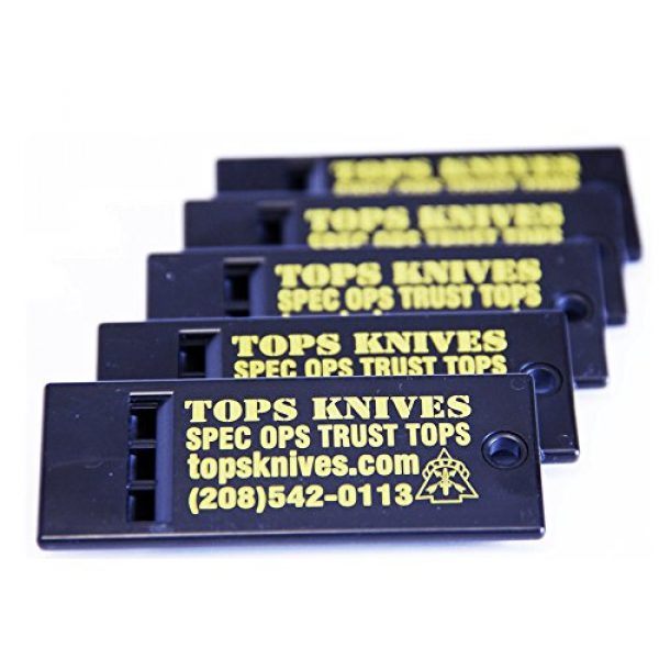 Tops Survival Whistle 1 Tops TKSW05 Survival Whistle