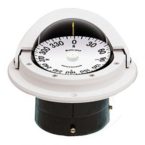 Ritchie Boat Compass 1 Ritchie F-82W Voyager Compass (White)