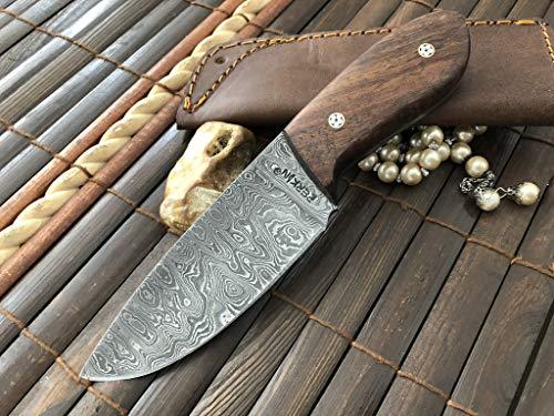 Perkin  1 Perkin Knives Custom Handmade Damascus Hunting Knife