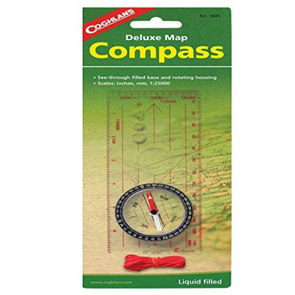 Coghlan's Survival Compass 1 Coghlan's Map Compass