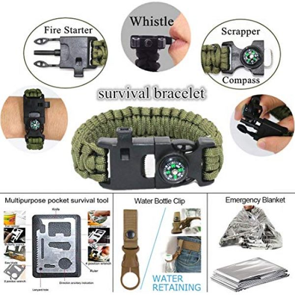 Veitorld Survival Kit 2 Gifts for Men Dad Husband Fathers Day, Survival Kit 12 in 1, Fishing Hunting Birthday Gifts Ideas for Him Boyfriend Teen Boy, Cool Gadget Stocking Stuffer, Survival Gear, Emergency Camping Gear