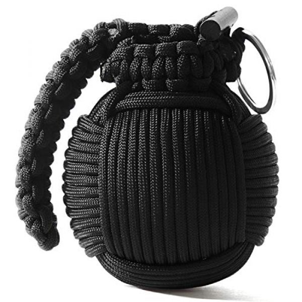 Holtzman's Gorilla Survival Survival Kit 1 Holtzmans Survival Kit Paracord Grenade The #1 Best 48 Tool Emergency kit