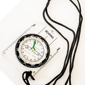 Under Control Tactical Survival Compass 1 Under Control Tactical Best Sighting Compass for Camping & Outdoors - Perfect for Scouts, Kids, Just Making Learning Maps Fun!