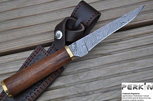 Perkin Knives  1 Perkin Knives - Custom Handmade Damascus Hunting Knife - Beautiful Boning Knife