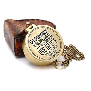 Roorkee Instruments India Survival Compass 1 Roorkee Instruments India Engraved Compass Directional Compass Personalized Gift for Camping, Hiking and Touring