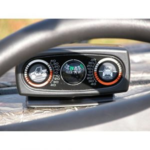 Rugged Ridge  1 Rugged Ridge 63309.01 ATV/UTV Clinometer with Compass