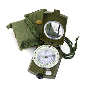 Sportneer  1 Sportneer Military Lensatic Sighting Compass with Carrying Bag