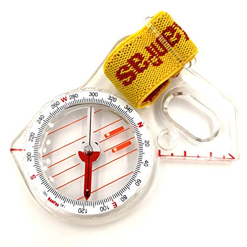 KanPas Survival Compass 1 Elite Thumb Orienteering Compass Fast Neddle Setting for Outdoor Adventure Map Reading