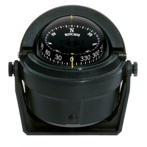 Ritchie Navigation  1 Ritchie Navigation B-81 Voyager Bracket Mount Combi-Dial Compass