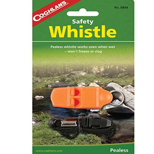 Coghlans Survival Whistle 1 Coghlan's Safety Whistle