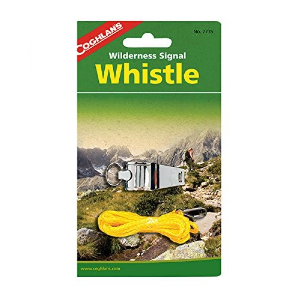 Coghlan's Survival Whistle 1 Coghlan's Whistle