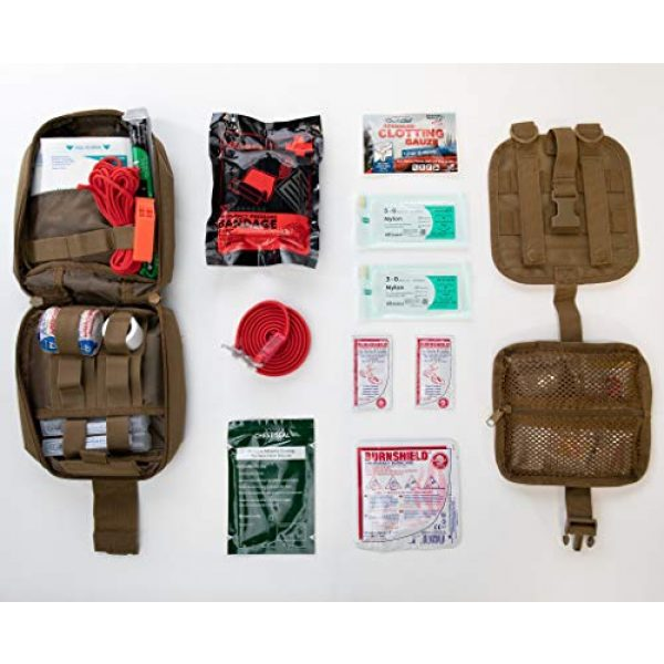 My Medic First Aid Kit 2 My Medic MyFak First Aid Kit - Water Resistant Bag, Bandages, Burn Aids, CPR Shield, Survival First Aid Kit, Airway, Tourniquet, Stainless Steel Instruments - Basic