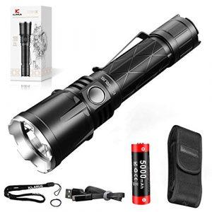 klarus  1 klarus XT21X 4000 Lumens Rechargeable Advanced Tactical Flashlight