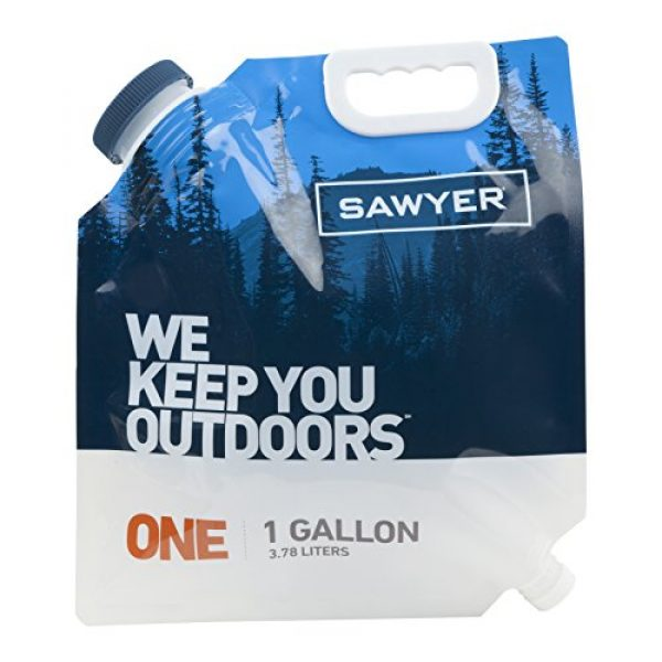 Sawyer Products Survival Water Filter 1 Sawyer Products Water Bladder for MINI and Squeeze Filters