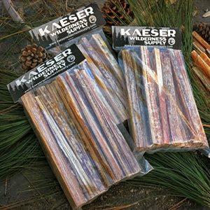 Kaeser Wilderness Supply Survival Fire Starter 1 Fatwood Fire Starter Sticks Resin Rich 3lbs All Natural No Additives Easy to Start Kindling Steve Kaeser