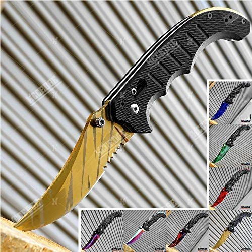 KCCEDGE BEST CUTLERY SOURCE  1 KCCEDGE BEST CUTLERY SOURCE EDC Pocket Knife Camping Accessories Razor Sharp Edge Manual Open Folding Knife for Camping Gear Survival Kit Tactical Knife 51374