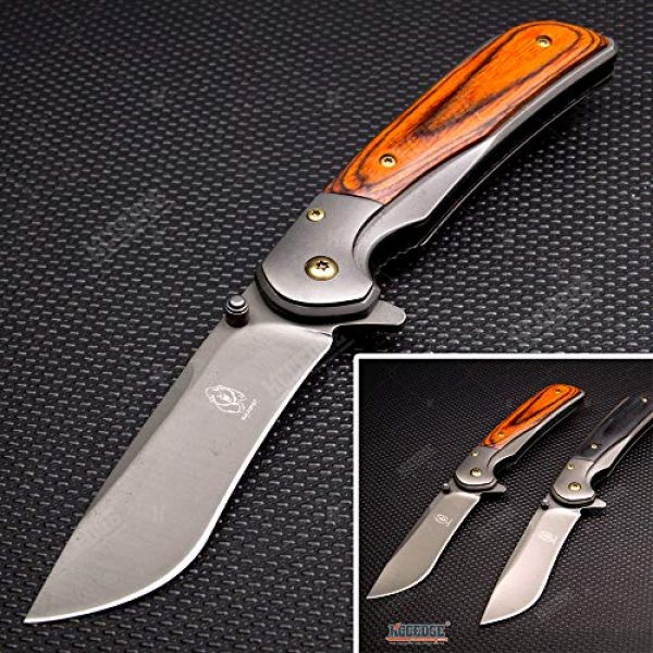 KCCEDGE BEST CUTLERY SOURCE Folding Survival Knife 1 KCCEDGE BEST CUTLERY SOURCE Pocket Knife Camping Accessories Survival Kit Camping Gear Razor Sharp Tactical Knife EDC Folding Knife 57215