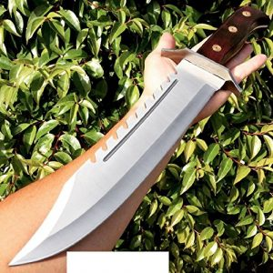 "Snake Eye Tactical  1 Fixed Blade 16.5"" FULL TANG RAMBO BOWIE MACHETE TACTICAL SURVIVAL HUNTING KNIFE"