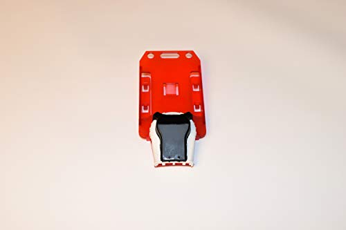 VerDuco Products  2 VerDuco Products Bearicade Badge Whistle - Safety Device - Door Barricade - Emergency Whistle Blocks Door from Opening When Assailant or Active Shooter is in Building