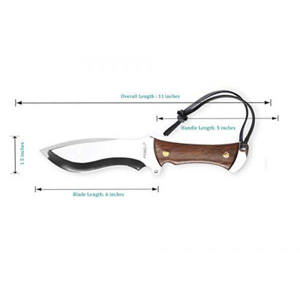 Perkin Fixed Blade Survival Knife 2 Perkin Knives - Handmade Hunting Knife D2 Tool Steel