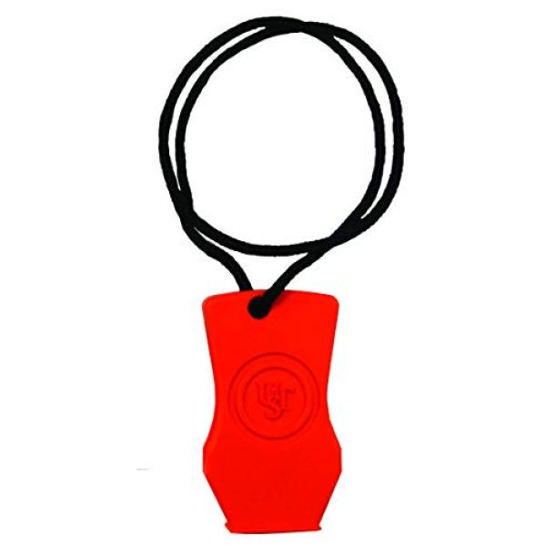 UST Survival Whistle 2 UST JetScream Floating Whistle with Powerful 112 dB Signal, Compact, Pea-Less Lightweight Design and Lanyard for Use in Emergency Situations and Outdoor Survival