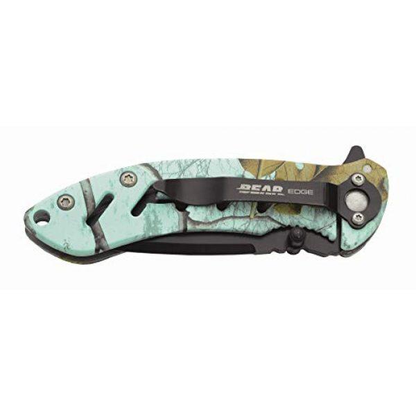 """Bear Edge Folding Survival Knife 4 Bear Edge 4 1/4"""" Predator Series Brisk 1.0 Frame Lock Folder Knife"""